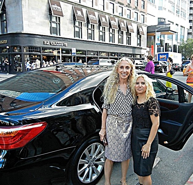 Franca Sozzani (Editor-in-Chief: VOGUE Italy) with Jesenia, JGB Editor
