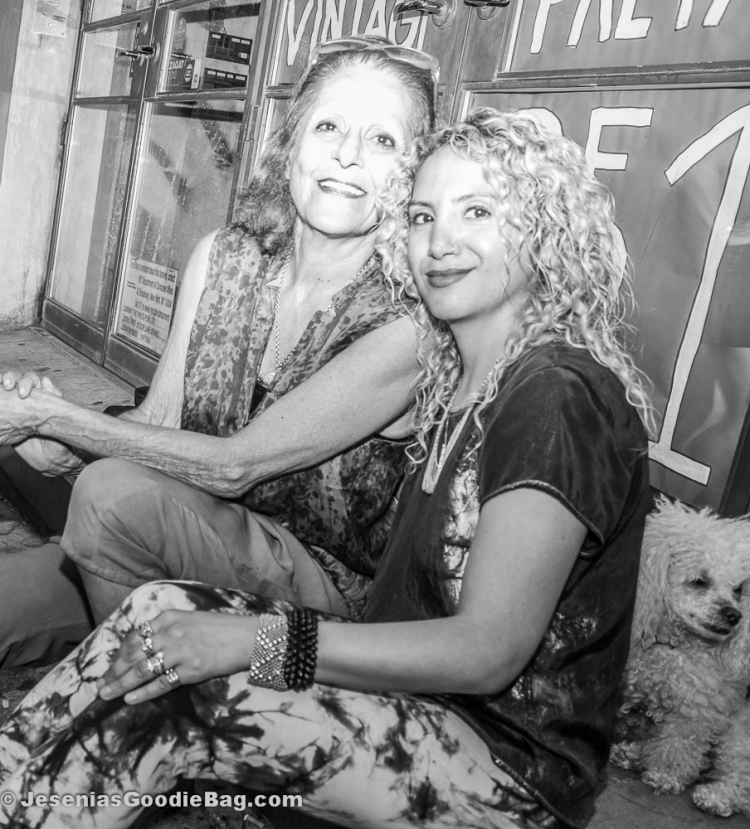 Patricia Field with Jesenia (JGB Editor)