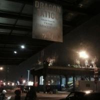 The Girl With The Dragon Tattoo Pop-Up Shop