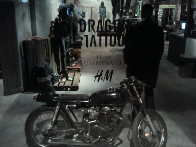 The Girl With The Dragon Tattoo Pop Up Shop Jesenias