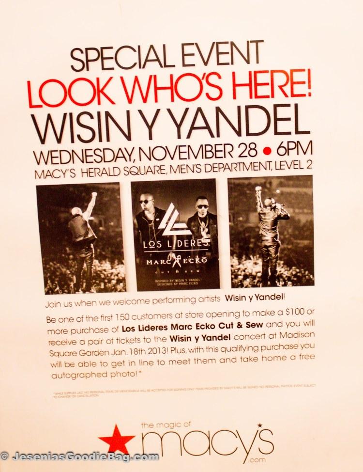 Wisin Y Yandel Event Ad