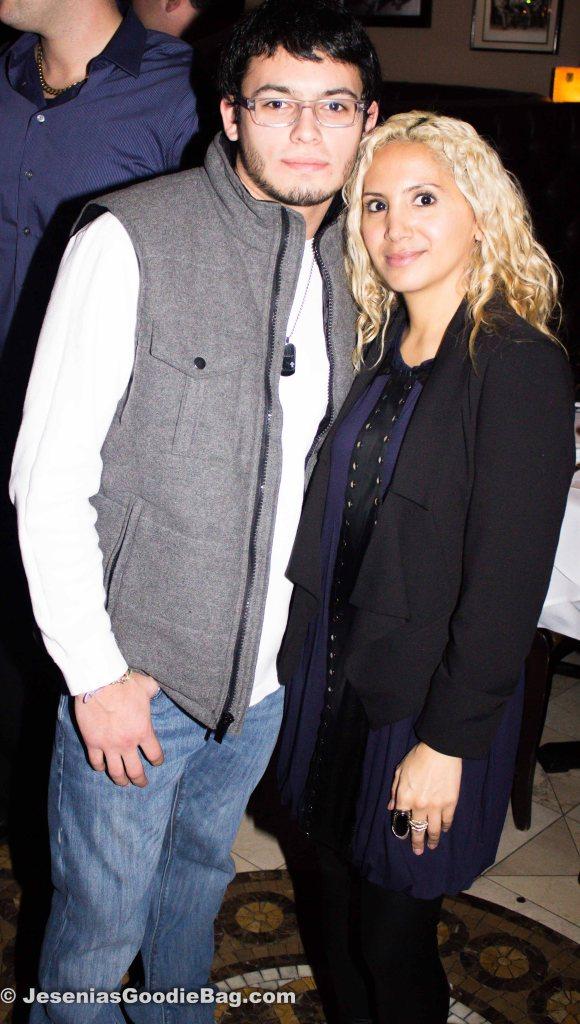 AJ Graziano  with Jesenia (JGB Editor)