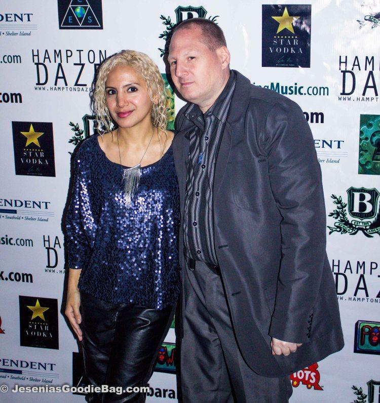 Jesenia (JGB Editor) with John Thomas (JT Talent & Casting)