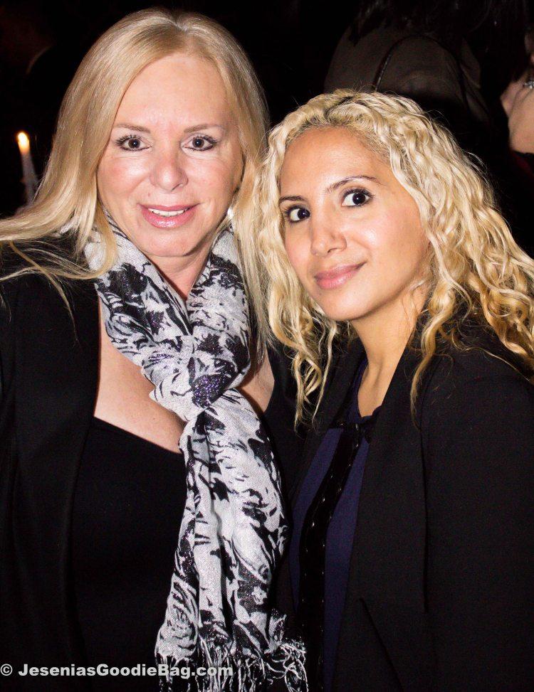 Linda Torres (Big Ang's gal pal) with Jesenia (JGB Editor)