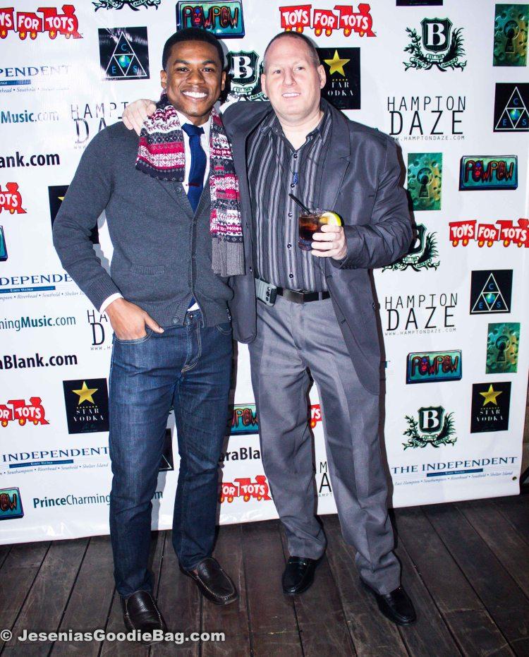 Brandon Bernard Jones (Fashion Stylist) with John Thomas (JT Talent & Casting)