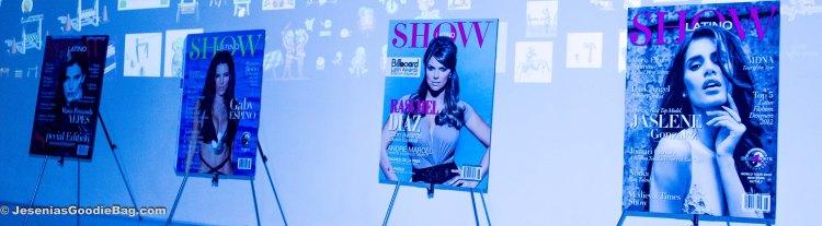 Latino Show Magazine: Maria Fernanda Yepes, Gaby Espino, Rashel Diaz, and Jaslene Gonzalez.