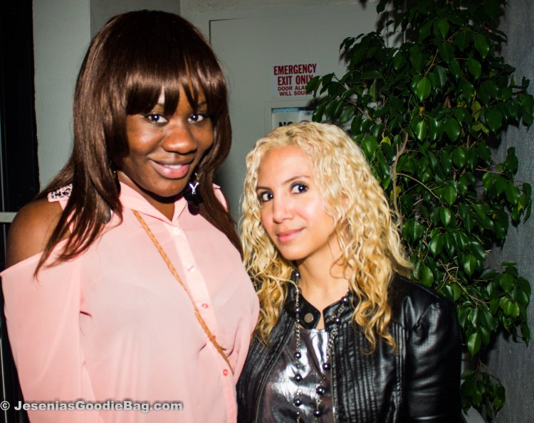 Tyesha Lane (Glam Addiction) with Jesenia (JGB Editor)