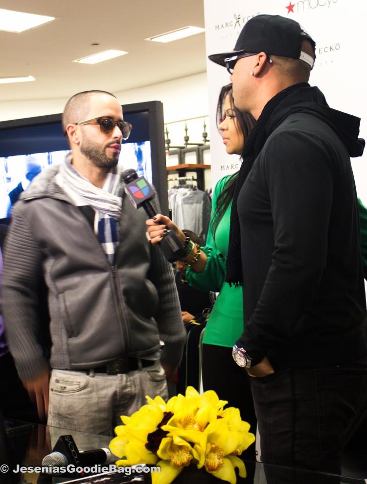 Yandel, Reporter, Wisin.
