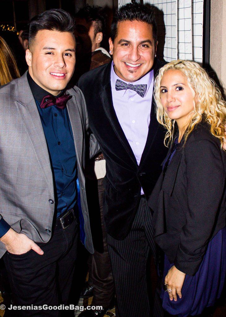 Johnny Donovan (JD Talent Booking), Lucas Prata, Jesenia (JGB Editor)