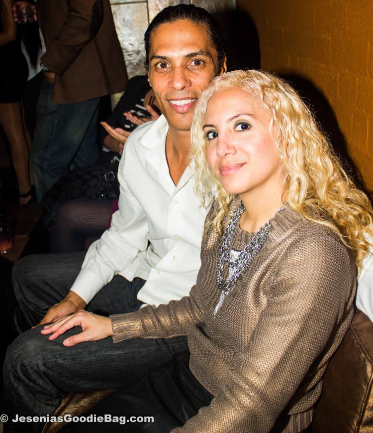 Taimak Guarriello (Actor) with Jesenia (JGB Editor)