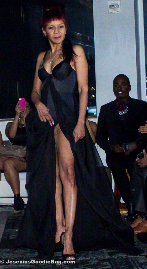 Mama Jones (Reality TV Star) for Jason Christopher Peters Runway Show
