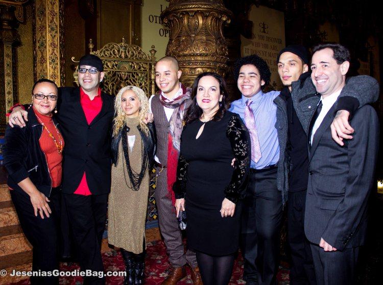 Urban Latino Magazine rep, Luis Antonio Ramos, Jesenia (JGB Editor), John Rafael Peralta, Olga Merediz, Antonio Ortiz, Actor, Jonathan Ullman.