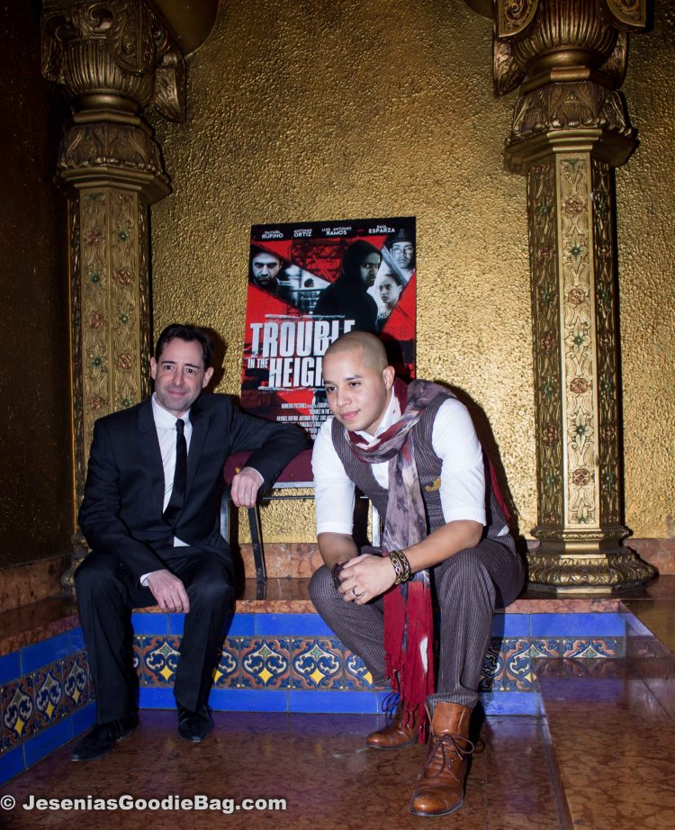 Jonathan Ullman (Director) with John Rafael Peralta,