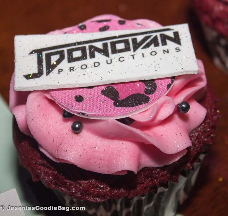 Red Devil cupcake (Johnny Donovan Productions)