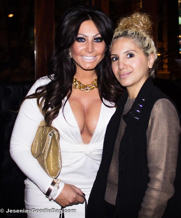 Tracy DiMarco (Jerseylicious) with Jesenia (JGB Editor)