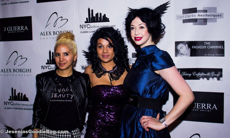 Jesenia (JGB Editor), Jazmyn Edmonds (Designer), Davina Reichman Schuck (Event Director)