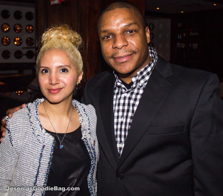 Jesenia (JGB Editor) with Vin Rock (Naughty By Nature)
