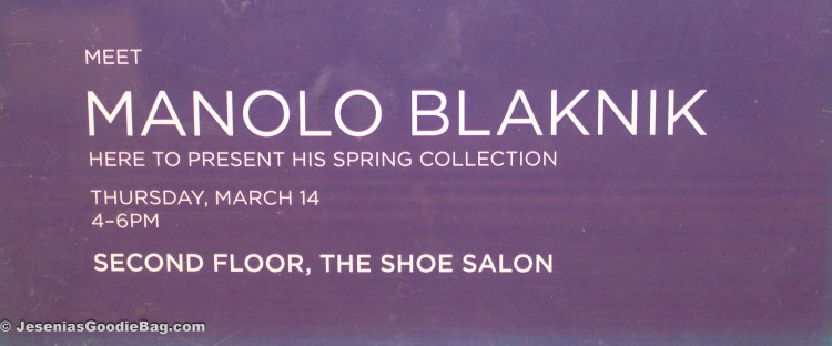 Manolo Blahnik Event