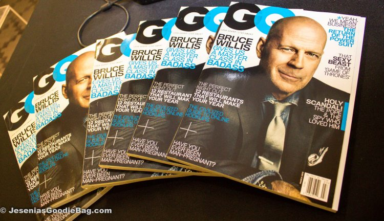 (GQ Magazine: March 2013) (Actor: Bruce Willis)