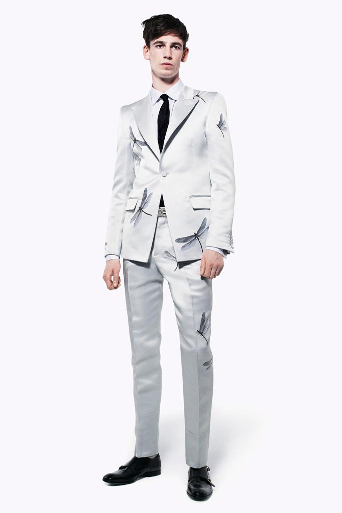 Alexander McQueen: MEN'S (Spring/Summer 2013)
