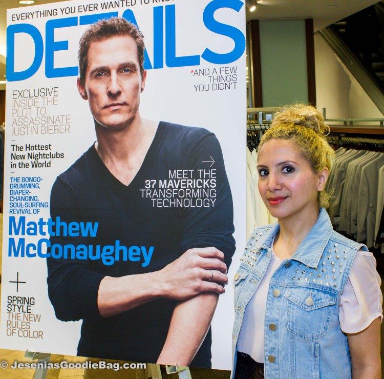 Details Magazine: April 2013. (Actor: Matthew McConaughey)