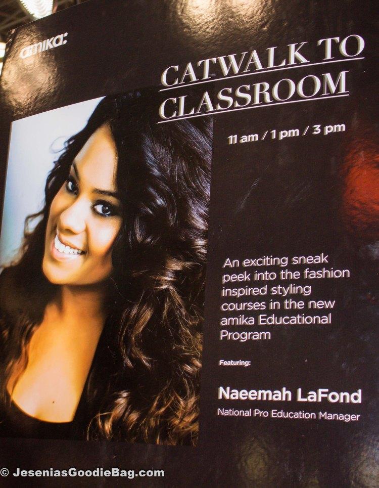 Naeema LaFond (Amika: National Pro Educational Manager)