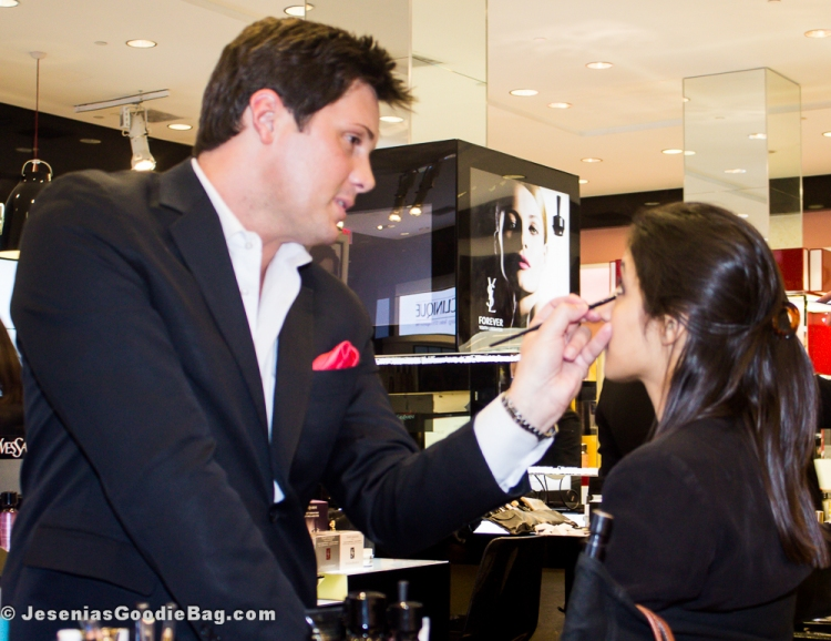 Dell Ashley (YSL) with client