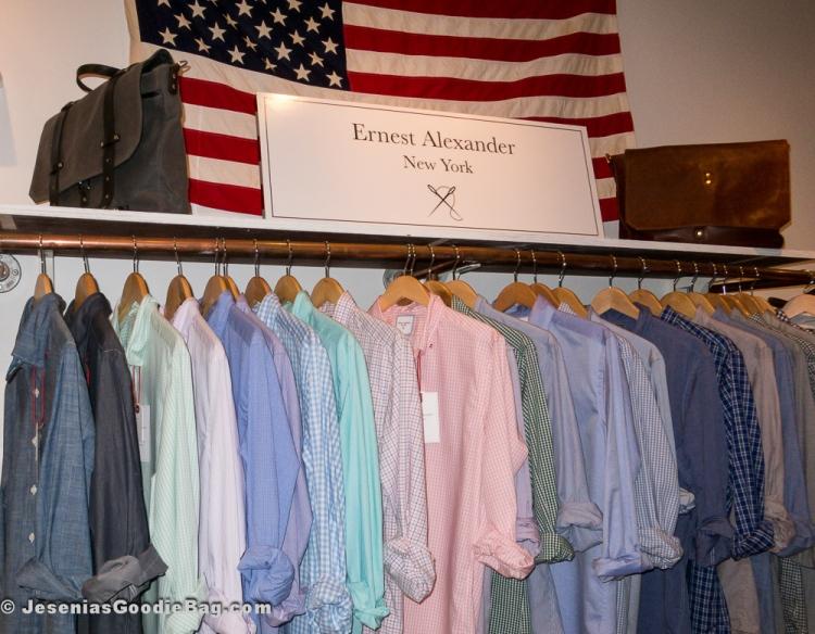 Button Down Shirts, Bags (Ernest Alexander)