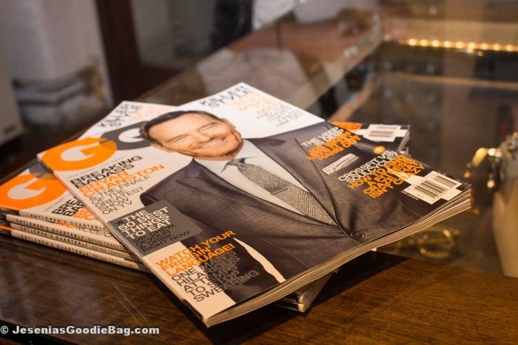 GQ Magazine (August 2013)