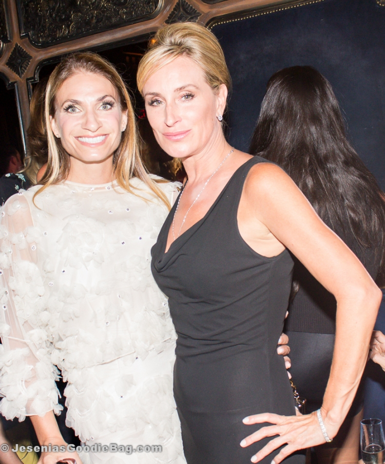 Heather Thomson with Sonja Morgan