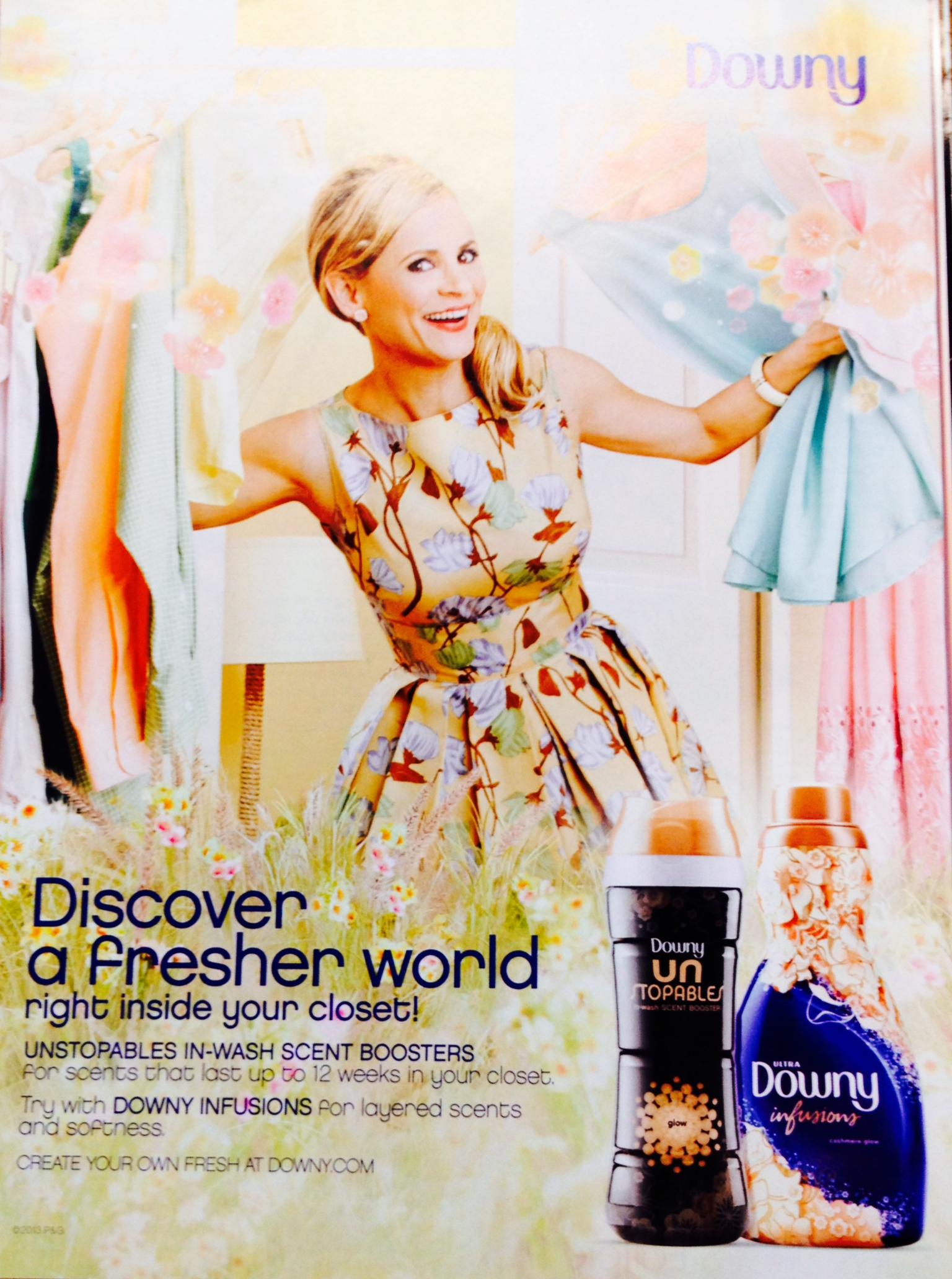 Elle Magazine Downy Fashion Scents Party Jesenia S