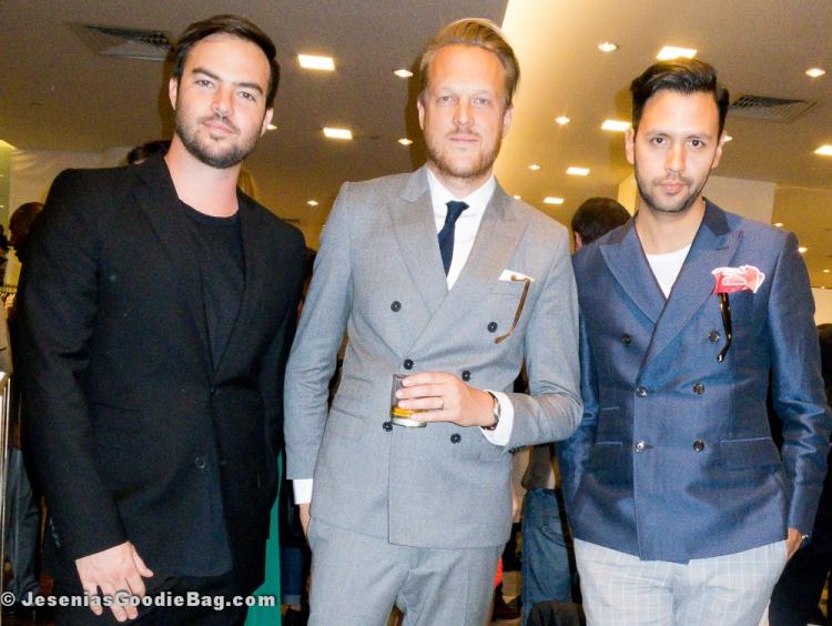 Sebastian Puga (Promoter) and Steven Rojas (GrandLife Hotels NYC)