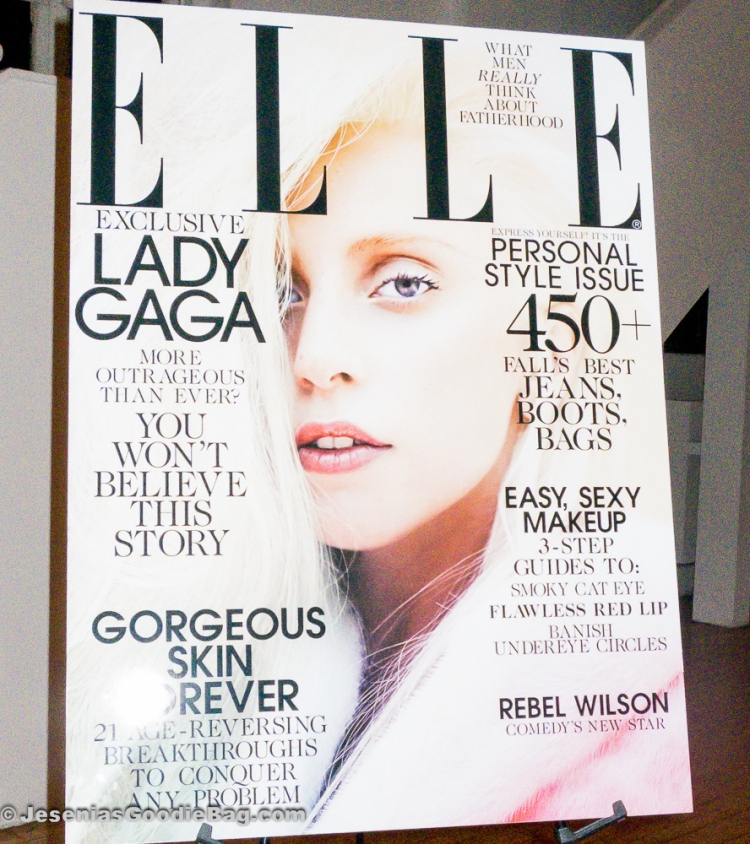 Lady GaGa (ELLE Magazine: October 2013)