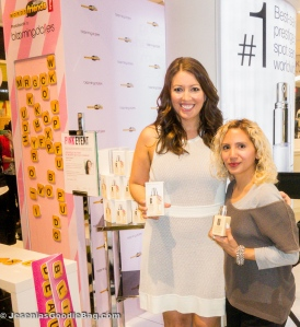 Polly Blitzer (Beauty Blitz) with Jesenia (JGB Editor)