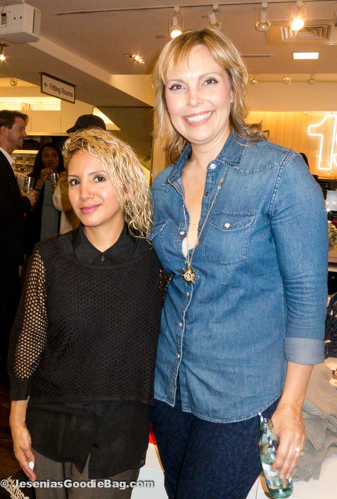 Jesenia (JGB Editor) with Jenn Rogien (Costume Designer)
