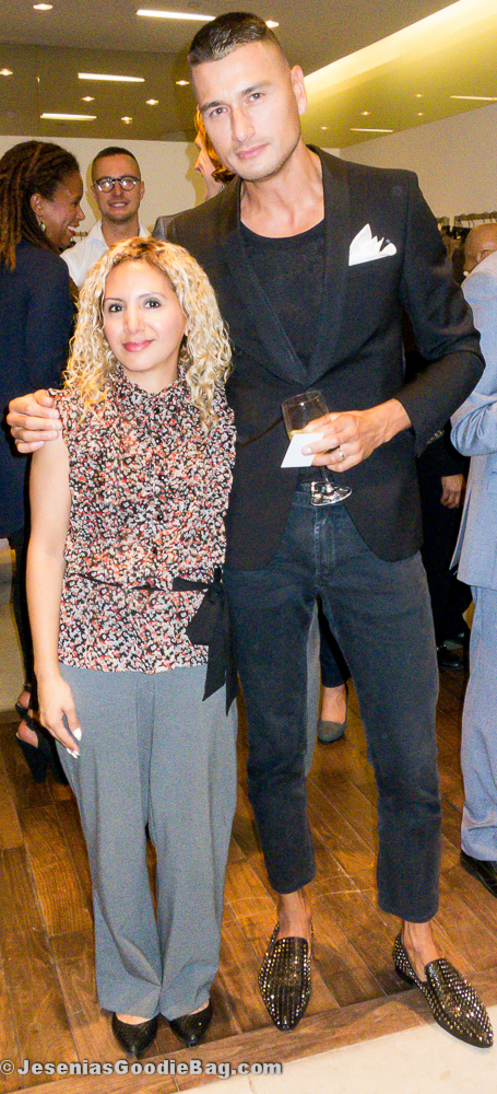 Jesenia (JGB Editor) with Jessy Heuvelink (J. Lindeberg)