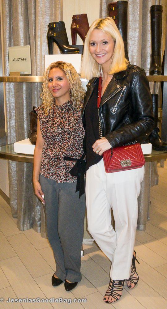 Jesenia (JGB Editor) with Zanna Roberts Rassi (Marie Claire)
