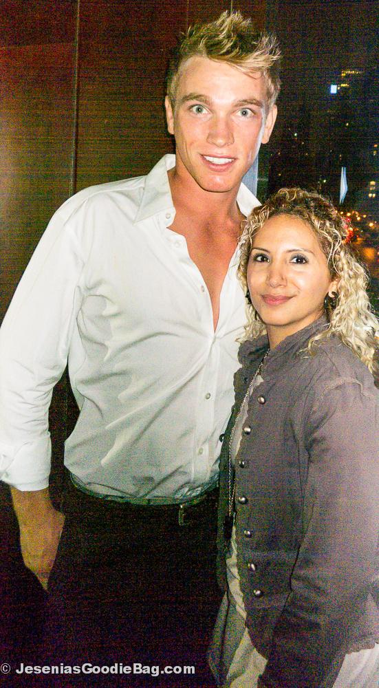 Nicholas Gruber with Jesenia (JGB Editor)