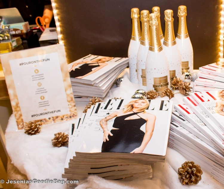 ELLE magazine, Chandon wines