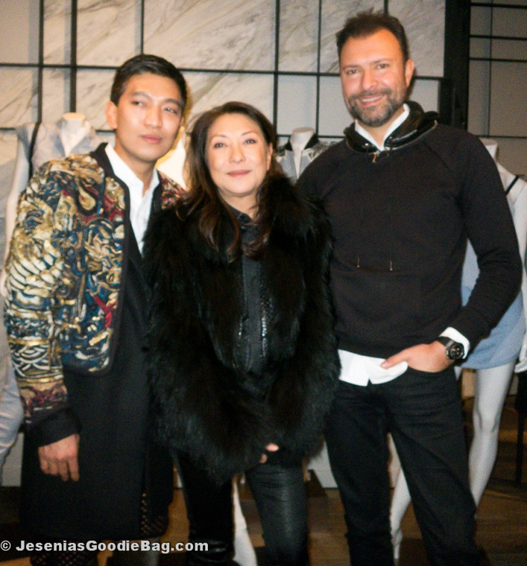 Bryan Boy & Barbara Bui with Khajak Keledjian (Intermix)