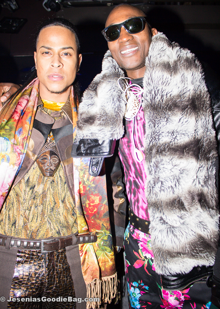 Bill Witherspoon designs (Models:  Mateo Manny, Moses Shilongo)