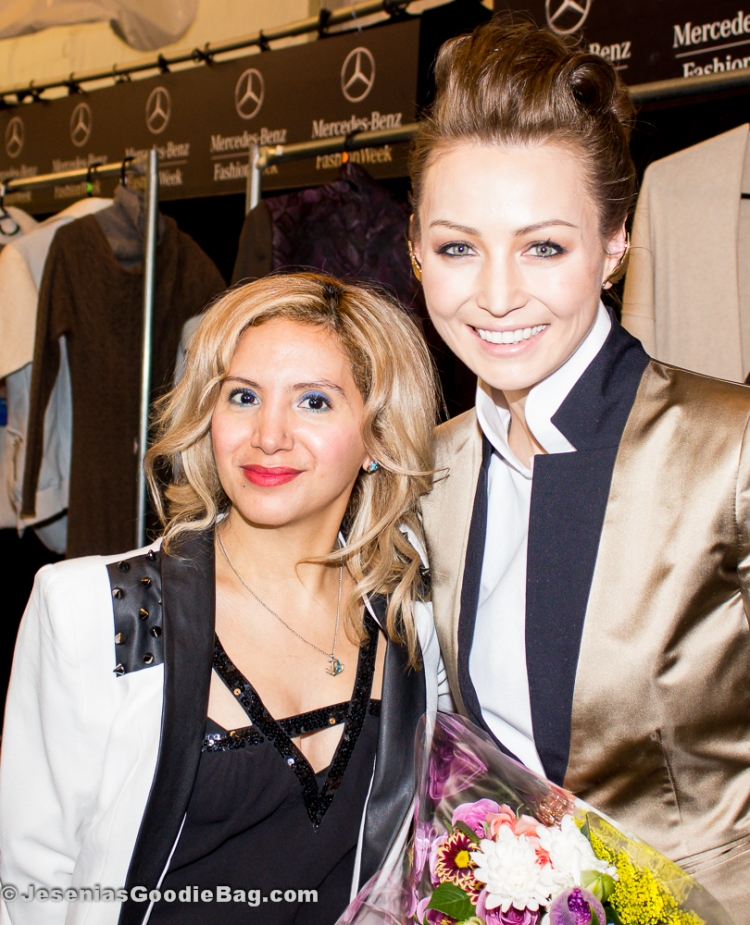 Jesenia (JGB Editor) with Katya Zol