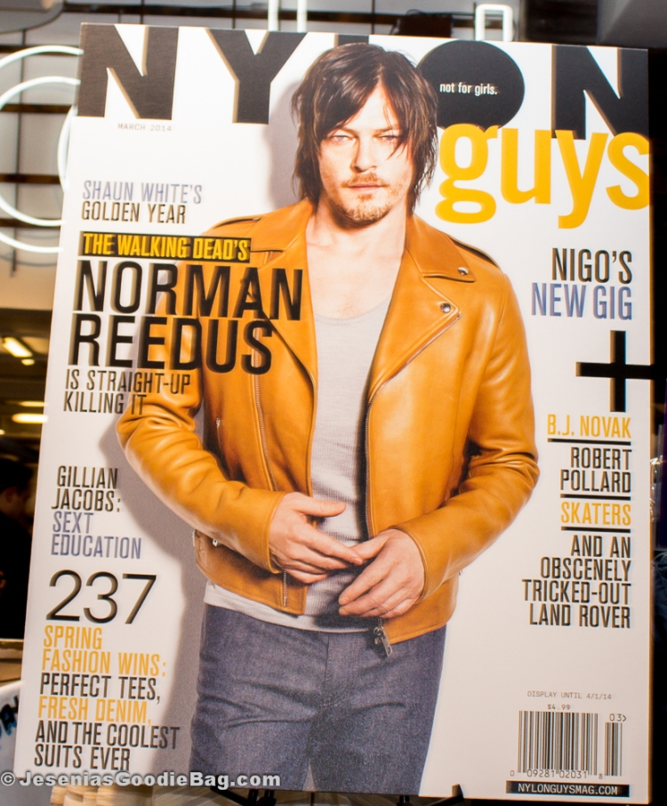 Norman Reedus for Nylon Guys (March 2014)