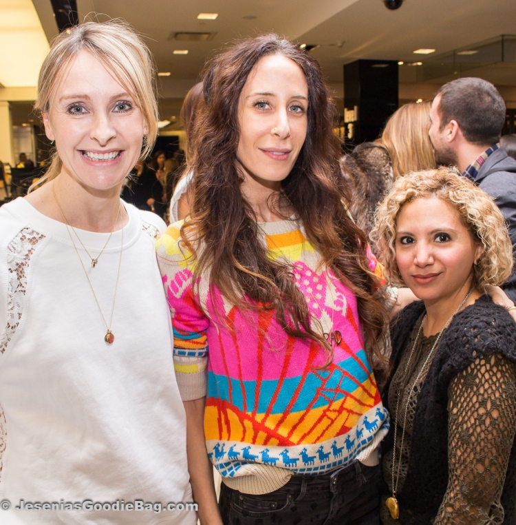 Rebecca Taylor, Mara Hoffman, Jesenia (JGB Editor)