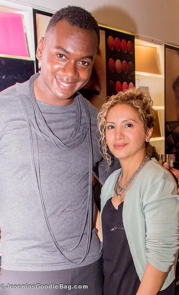 Ricky Wilson (Dior) with Jesenia (JGB Editor)