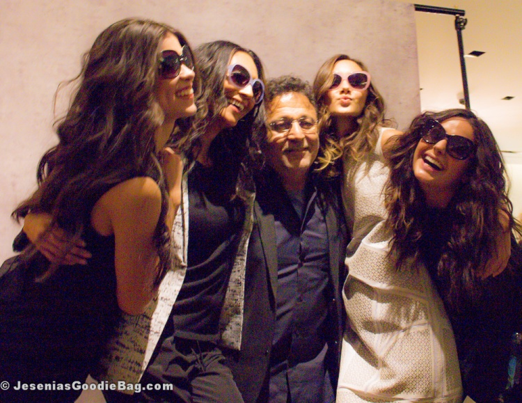 Elie Tahari & his models