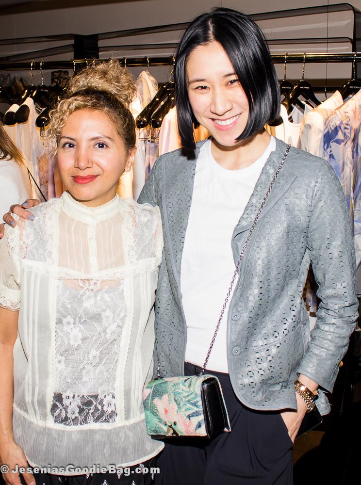 Jesenia (JGB Editor) with Eva Chen (Lucky Mag)