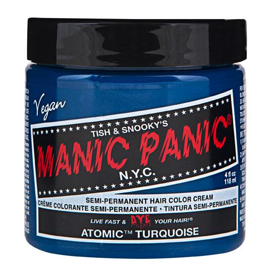 (Manic Panic - Classic Cream Formula) (Atomic Turquoise)
