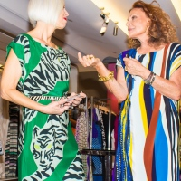 Diane Von Furstenberg – 40th Anniversary Wrap Dress Event