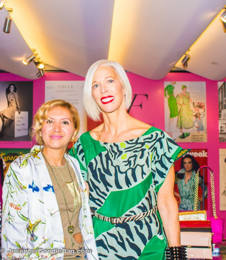 Jesenia (JGB Editor) with Linda Fargo (Bergdorf Goodman)